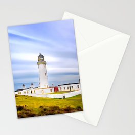 Mull of Galloway Lighthouse (Painting) Stationery Cards