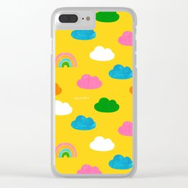 Sunshine and Rainbows Clear iPhone Case