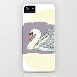 Swan n°I iPhone Case