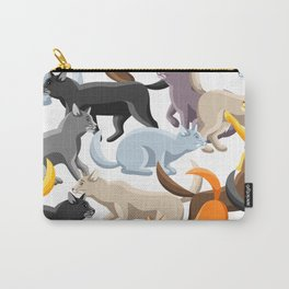 funny cats Carry-All Pouch