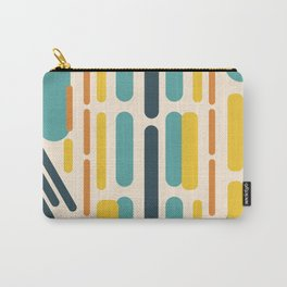 Oblong Teal Carry-All Pouch