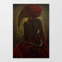 Lady Aves Canvas Print