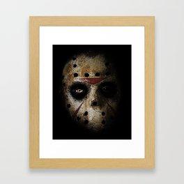 JASON!  Framed Art Print
