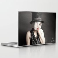 mad hatter Laptop & iPad Skins featuring Mad Hatter by Bephotography
