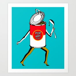 Pop Art to Go Art Print