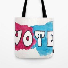 Vote Power Block Tote Bag