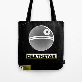 Death Star Poster Tote Bag