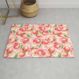 Peachy and Pink Rug