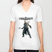 assassins creed V-neck T-shirts featuring Assassins Creed   by store2u