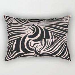 the big swirl Rectangular Pillow