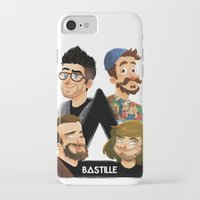 bastille iPhone & iPod Cases featuring Bastille  by Murray