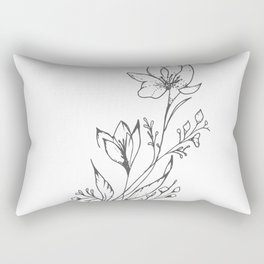 Florecer Rectangular Pillow