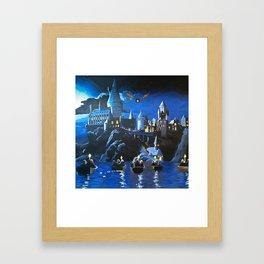 Gogwarts Framed Art Print