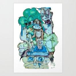 The Core Subversor Chiller Motiv 1 Art Print
