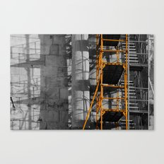 Ancient scaffold 2 Canvas Print