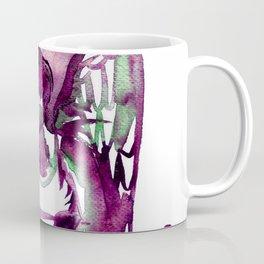 Grunge Angel Red and Green Coffee Mug