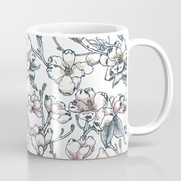 Magnolia Pug Coffee Mug