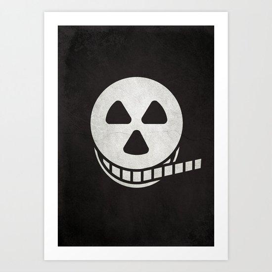 Horror Film Art Print