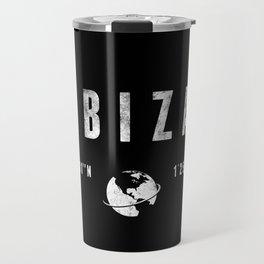 Ibiza geographic coordinates Travel Mug