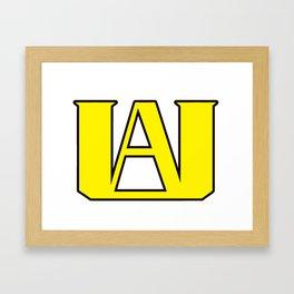 UA Framed Art Print