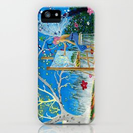 Fairy Artist iPhone Case