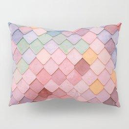 Pink Tiles (Color) Pillow Sham