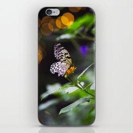 Butterflies + Twinkle Lights 1 iPhone Skin