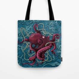 Octopus colored Tote Bag