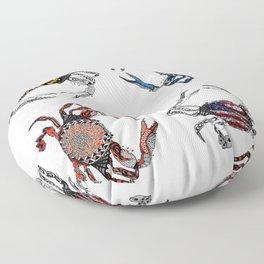 Ol' Crabs Floor Pillow
