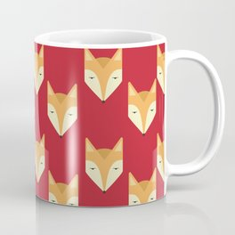 Mr. Fox Pattern Coffee Mug