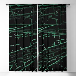 Neon Disco #8 Blackout Curtain