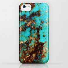 Turquoise I iPhone 5c Slim Case