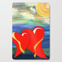 HEARTS OF HOPE 2 Cutting Board