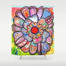 Florem Terrae Bright Shower Curtain
