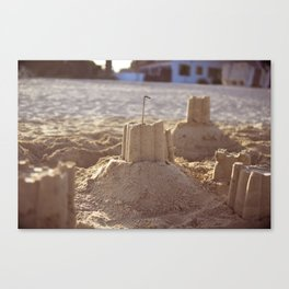 Palace of Sand Canvas Print
