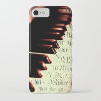 piano iPhone & iPod Cases featuring piano by Falko Follert Art-FF77