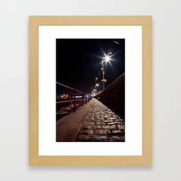 Guernsey Night Path Framed Art Print