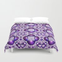 boho Duvet Covers featuring Boho by Lyle Hatch