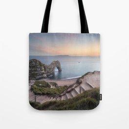 Winding Way to Durdle Door Tote Bag
