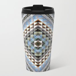 Boundaries (Manmade) - Square cut Metal Travel Mug