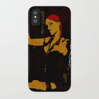 redhead iPhone & iPod Cases featuring Redhead by Sandra Höfer