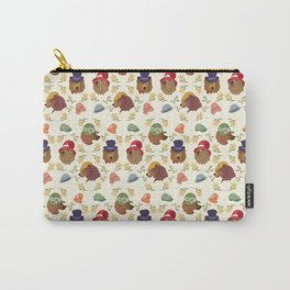 Bears and Hats Carry-All Pouch