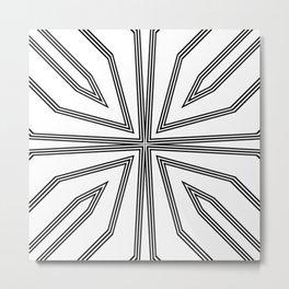 Seemingly Simple II Metal Print