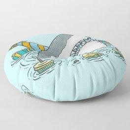 Birthday Shark II Floor Pillow