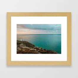 Twr Elin -Ellin's Tower South Stack Framed Art Print