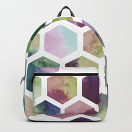 Antique Hexagons Backpack