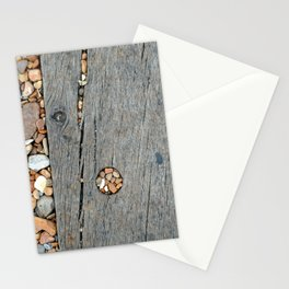 Beach Pebble Abstract Stationery Cards