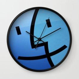Apple style Wall Clock