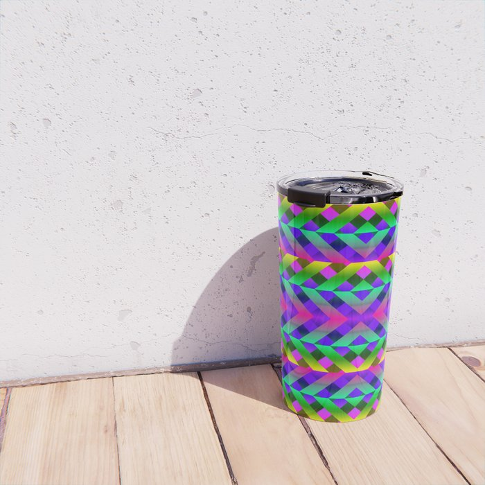 Rainbow Scaffolding Travel Mug