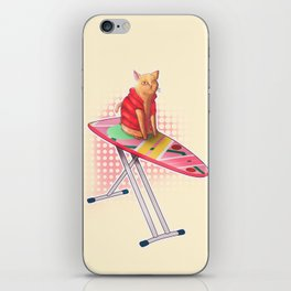 Hoverboard Cat iPhone Skin